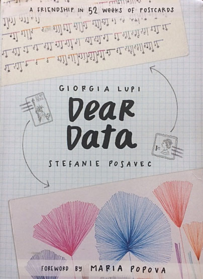 Dear Data:  A Friendship in 52 weeks of Postcards
