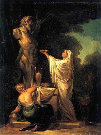 《パンの犠牲》1771年