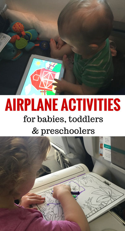 Inflight Entertainment For Babies, Toddlers & Preschoolers | Fly with baby | Fly with toddler | Toys for airplanes | Apps for Babies & Toddlers | Activities for babies & toddler | Family Travel  | Travel with baby, infant, toddler | Traveling with baby |