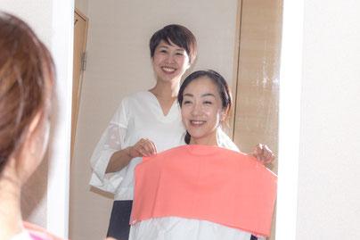 カラーコンサルタント岩崎沙織のプロフィールをご覧になりたい方は写真をクリック♪