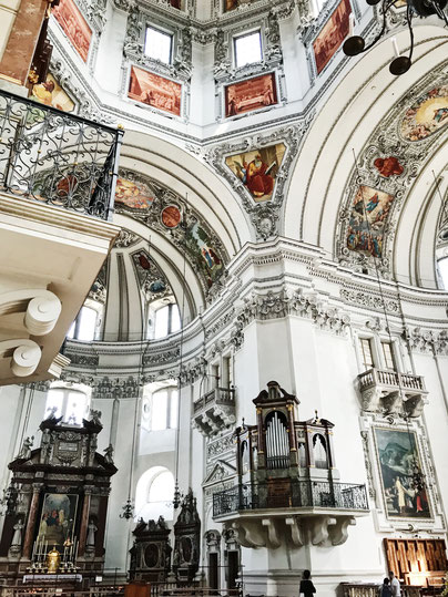 Salzburg Austria ofpenguinsandelephants of penguins & elephants City Guide cathedral dom church