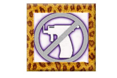 """Wir verwenden keine """"Piercing Pistole"""" oder Schussgeräte!"""