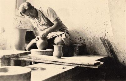 Töpfer Walter Gebauer 1932 Bürgel