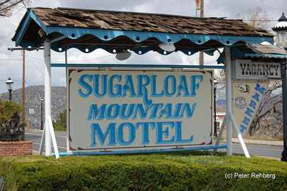 Sugarloaf Mountain Motel, Virginia City, Peter Rehberg