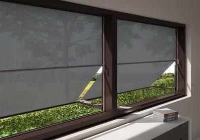 Markilux Markilux Fenstermarkise Markisolette Fallarmmarkise Ansicht von innen