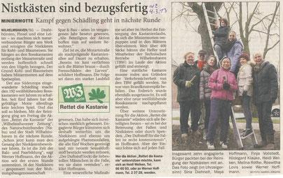 Wilhelmshavener Zeitung v. 4.3.2013