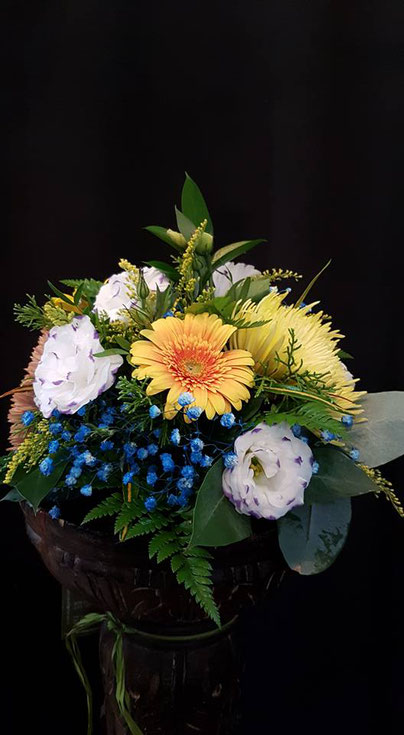 Centro pequeño de flores de 35cm de diametro ref CPFV270917  desde  PVP 25€