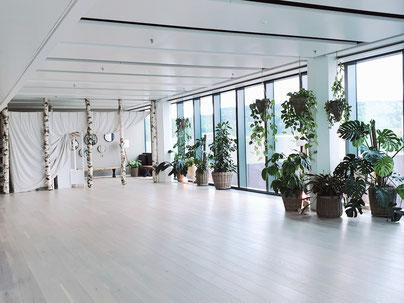 Unsere Workshop Oase, das Om Yoga im Glatt Tower