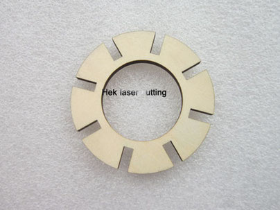 wood gears laser cutting plywood