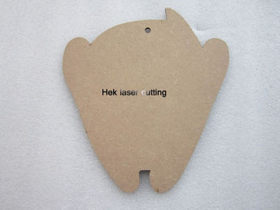 laser cutting MDF shapes
