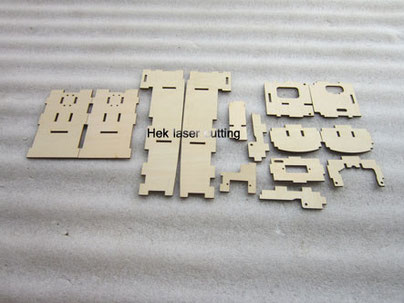 laser cutting products of assembly wood case