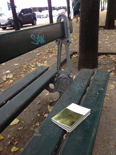 2017年6月30日 本を読みに出かけたパリ市内の公園にて