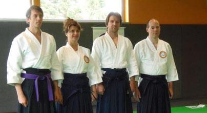 Thomas Ksiezarczyk et Emmanuelle Sagniez se sont vus récompensés pour leur pratique assidue