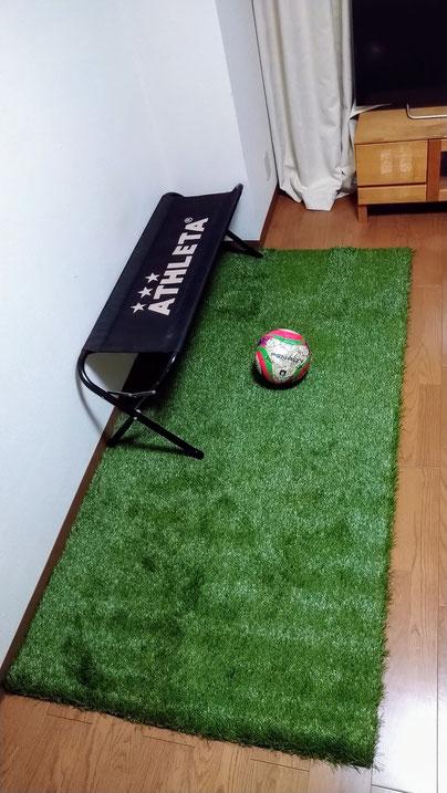 家トレ用人工芝 1m×2mサイズ 畳一帖分
