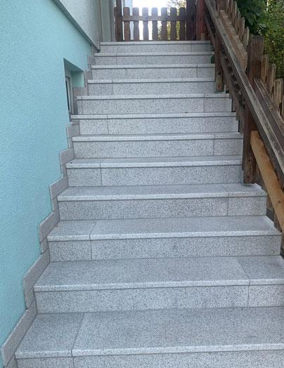 Stufenanlage nach Sanierung