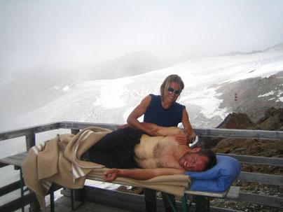 """Physiotherapie der besonderen Art - """"Erste Hilfe am Berg"""""""