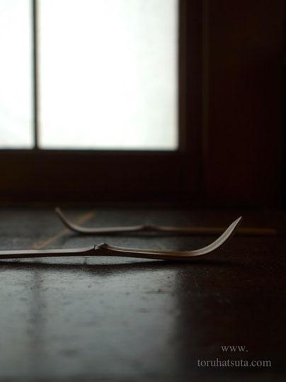 煤竹の旅茶杓
