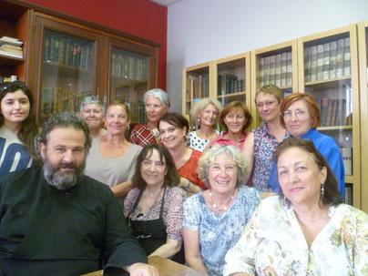 Atelier d'hagiographie byzantine - année 2014/2015 - sous l'égide de notre Recteur Père Ioannikios