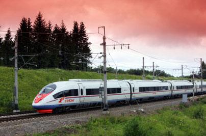Foto treno veloce Sapsan