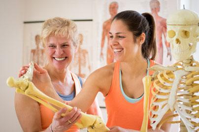 Coaching besteht daraus, dir deinen Körper zu erklären
