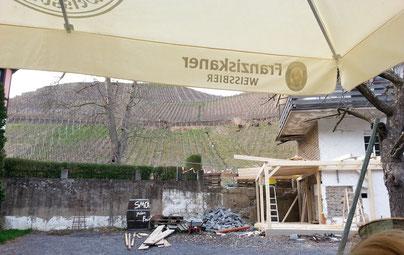 Restaurant Schaarschmidt mit neuem Biergarten an der Ahr