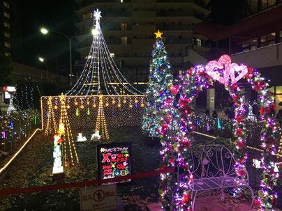 宝塚南口のクリスマス