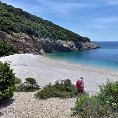 Kroatien ursprüngliche Insel Cres