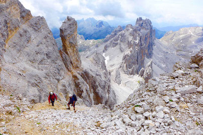 Dolomiten Sentiero della Pace, Reiseblog Edeltrips