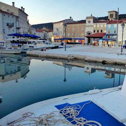 alte Hafen Cres Kroatien