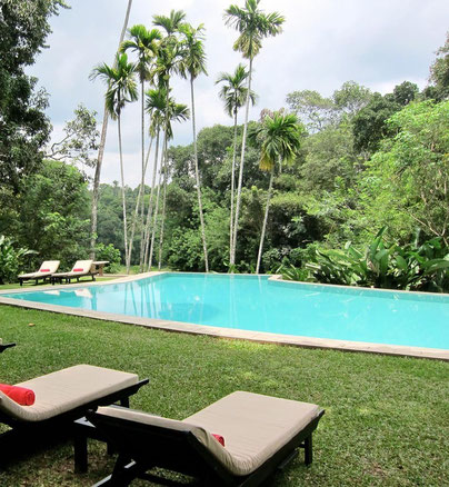 Pool KANDY HOUSE luxury hotel Sri Lanka