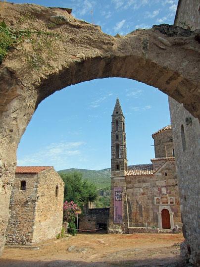 Kardamyli old town Mourtzinoi, Peloponnes