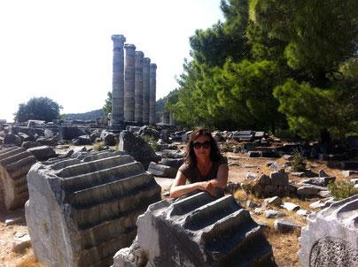 Antikes Priene, Türkei Lykische Küste