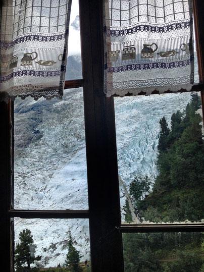 Bossons Gletscher Chalet des Pyramides Chamonix