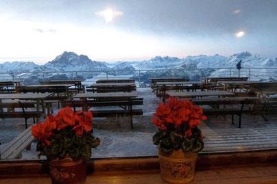 Berghütte Rifugio Lagazuoi, Reiseblog Edeltrips