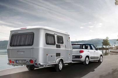 SILVER LINING. Der ERIBA Touring Caravan im Retro-Look