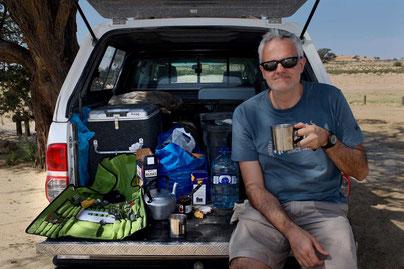 Namibia Hilux Camper Dachzelt