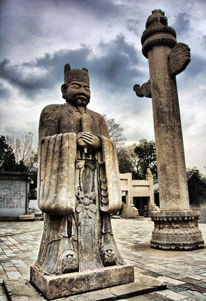 Tian Yi Grab, Eunuchen Museum Peking Foto: China.org.cn