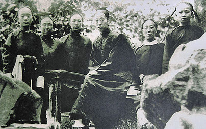 Junge Eunuchen der Verbotenen Stadt TianYi Eunuch Museum