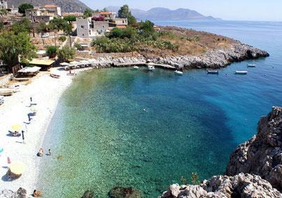Kokkala Beach Mani Peloponnes
