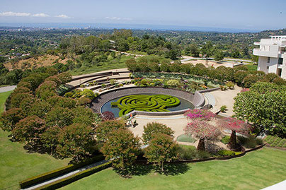 Foto: The Getty Centre, Garden