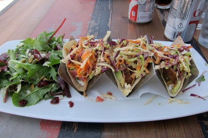 Fish Tacos im Rockefeller, Highland Ave Manhattan Beach