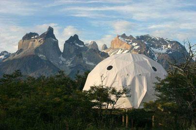 Camping Pehoé, der Campingplatz mit schönster Aussicht und fünf Domes