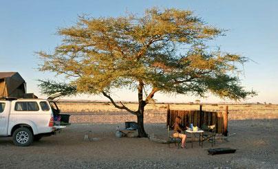 Namibia 4x4 Camper Dachzelt