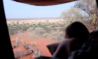 Namibia Camping Dachzelt