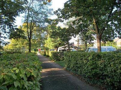 Campingplatz in Beaune Municipal Les Cent Vignes