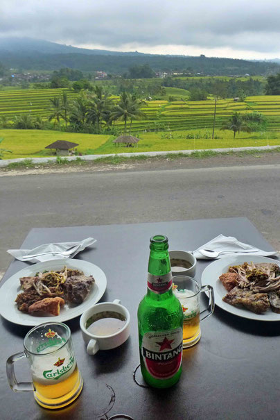 Restaurant tipp Jatiluwih Reisterrassen Bali