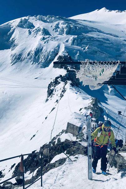 Haute Route - Vignettes Hütte