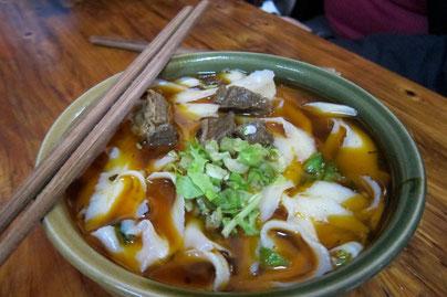 Chengdu noodle soup