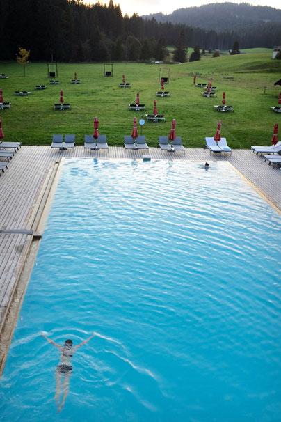 Pool Kranzbach Wellnesshotel Bayern Deutschland
