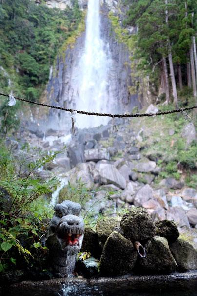 Japan Nachi Berge Wasserfall Nachi-no-taki Kumano Schrein Reisebericht Japan